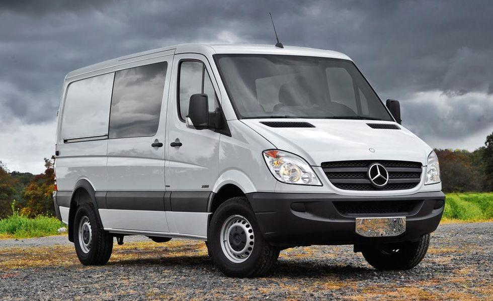 a Sprinter crew van by Mercedes-benz from 2010