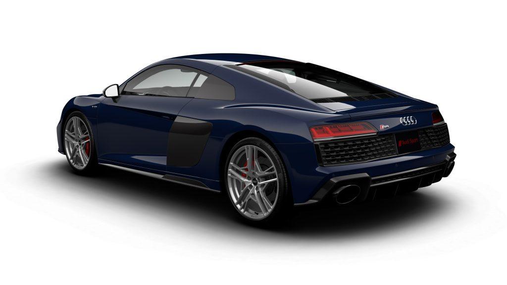 Audi R8 V10 Limited Edition in Mugello Blue