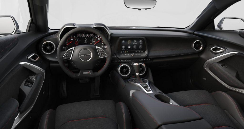 The 2020 Chevrolet Camaro ZL1 1LE's interior