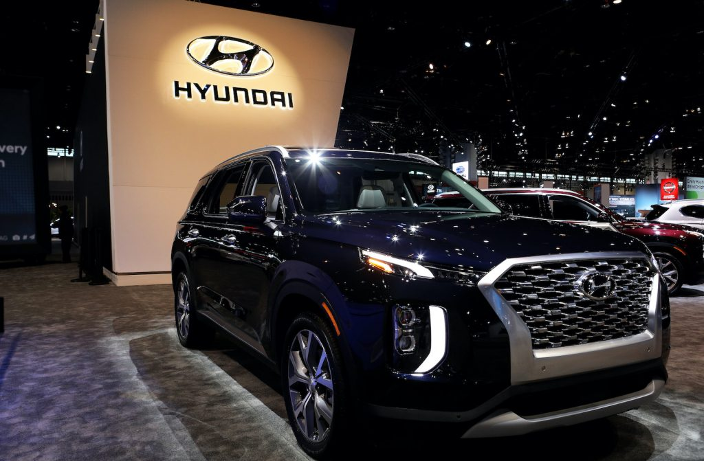 2020 Palisade is on display at the 112th Annual Chicago Auto Show