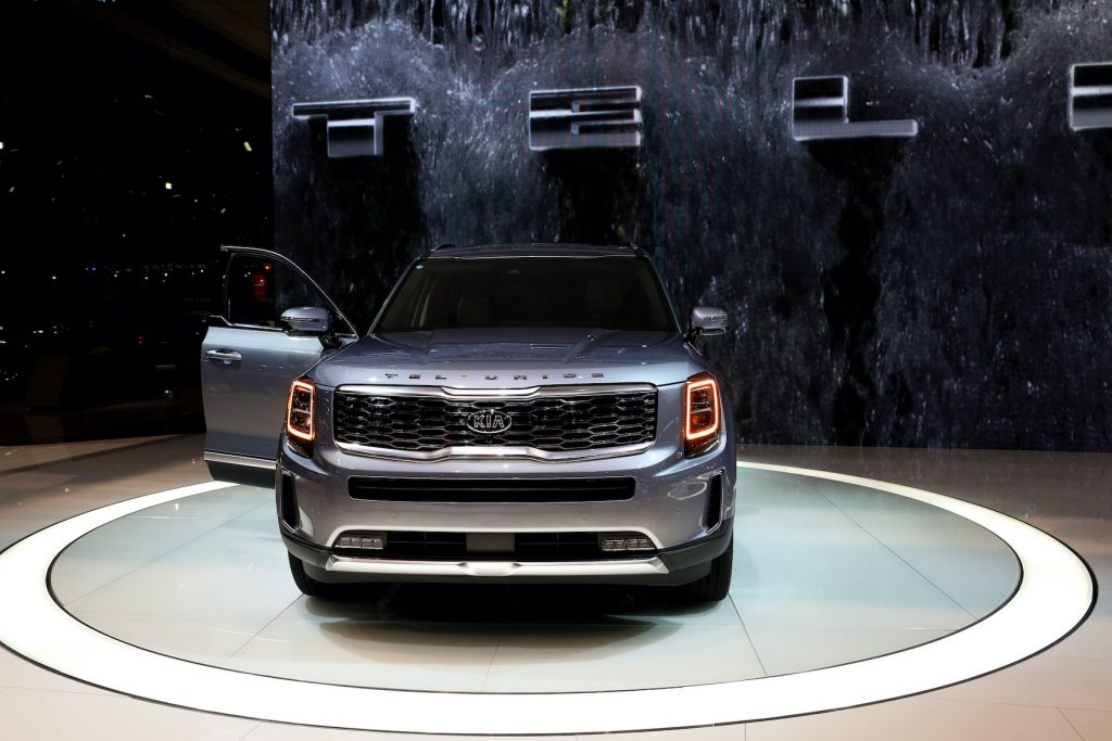 2020 Telluride is on display at the 111th Annual Chicago Auto Show at McCormick Place