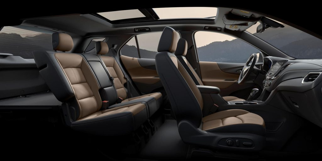 interior seat photo of 2021 Chevy Equinox