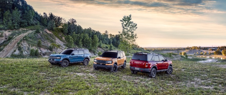 2021 ford bronco sport models