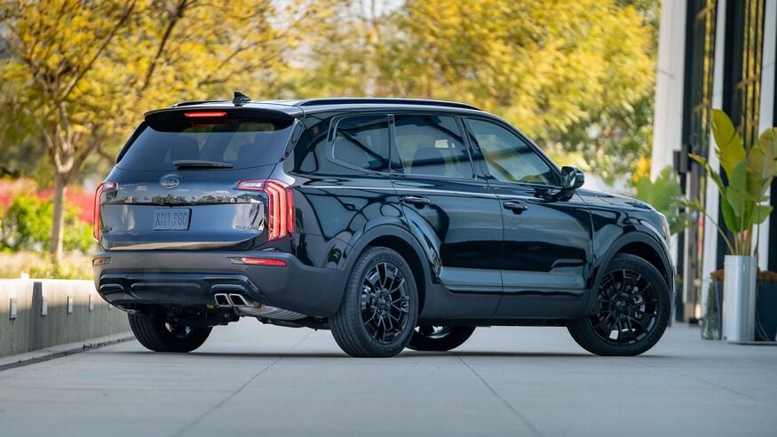 2021 Kia Telluride Nightfall Edition from the back