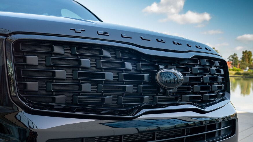 2021 Kia Nightfall Edition Grille