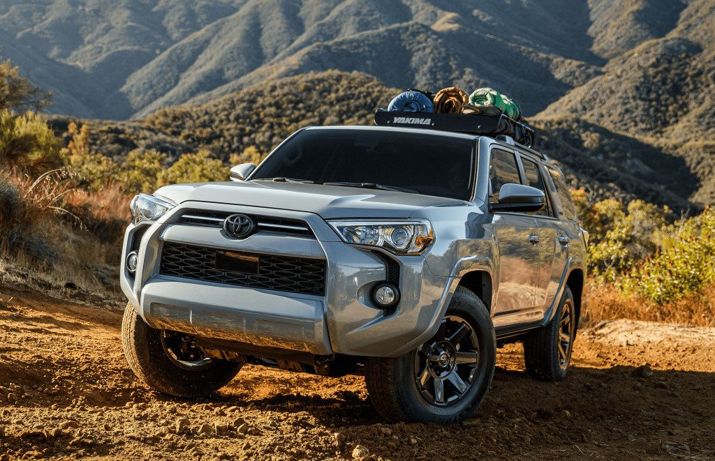 2021 Toyota 4Runner Trail Edition off-roading