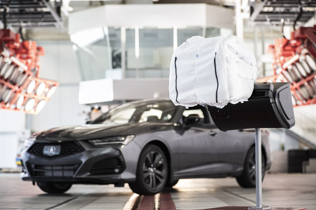 2021 acura tlx airbag