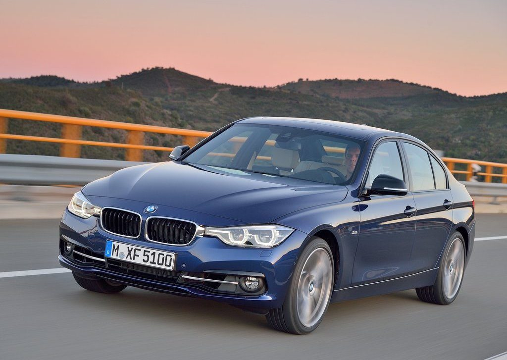 BMW, like this 3 Series driving on a scenic road, is among brands that are leased the most