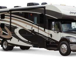Freightliner custom chassis for an RV