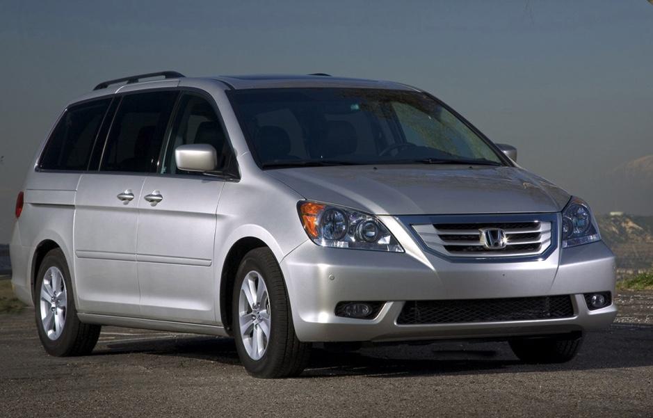 2008 used Honda Odyssey in silver