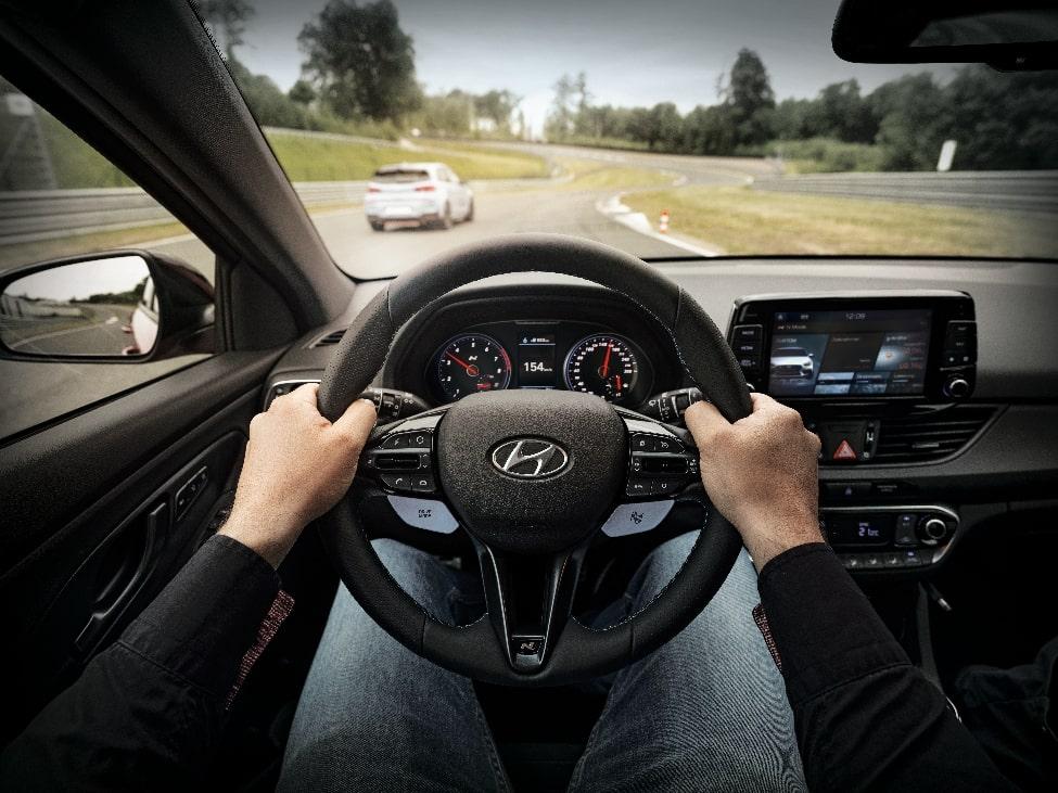 get behind the wheel at the hyundai driving experience