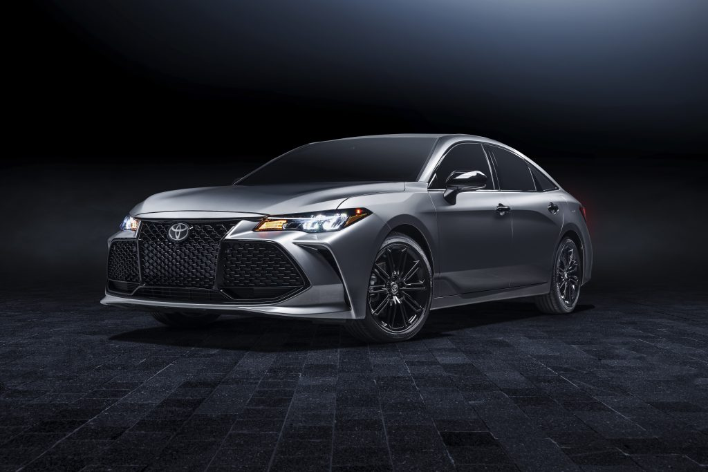 The 2021 Toyota Avalon features a new a bold Nightshade Edition trim.