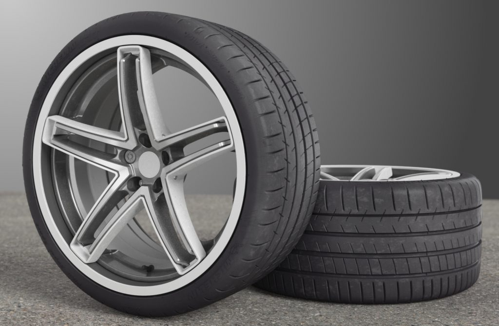 Maxion flexible wheel and tire