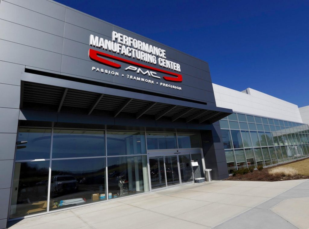 Honda's performance manufacturing center located in marysville, ohio