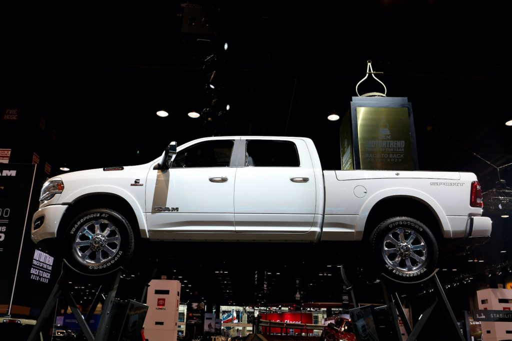 2020 RAM 1500 is on display at the 112th Annual Chicago Auto Show