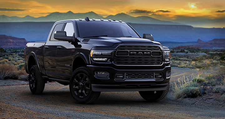 RAM 2500 black edition