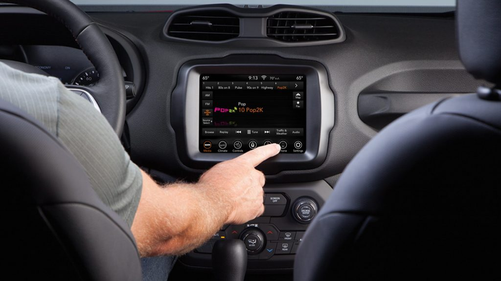 2020 Jeep Renegade Interior