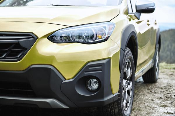 The 2021 Subaru Crosstrek debuts with refreshed design, suspension and an available 2.5 Liter engine.
