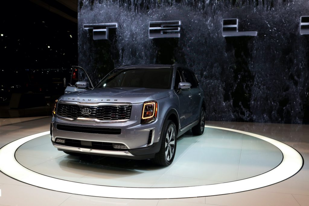 The 2020 Telluride is on display at the 111th Annual Chicago Auto Show
