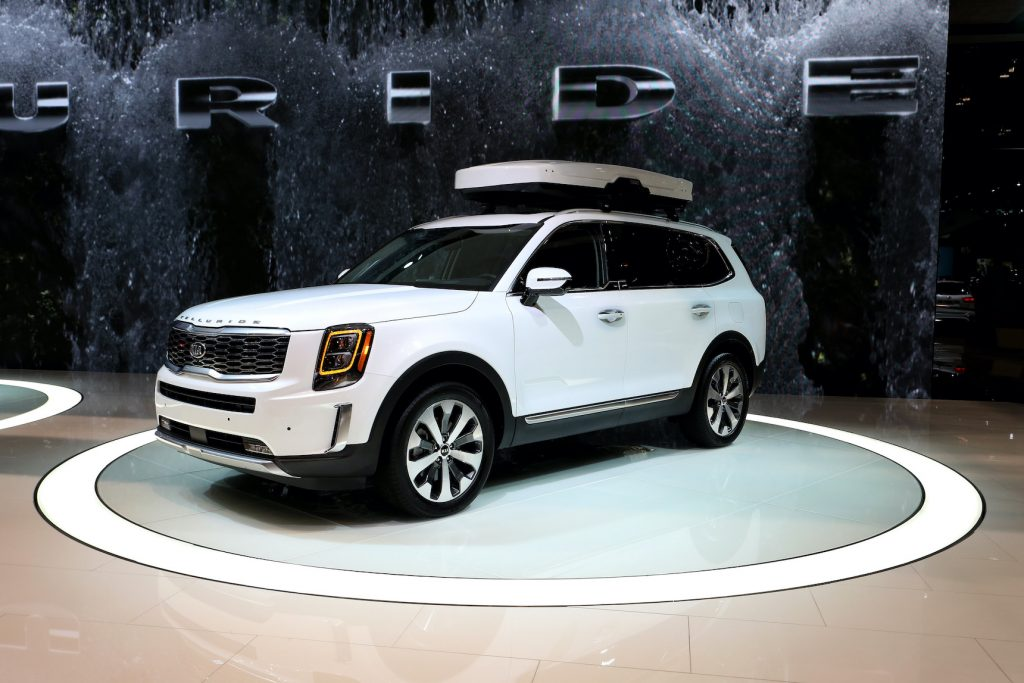 2020 Kia Telluride is on display at the 111th Annual Chicago Auto Show