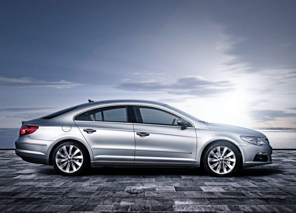 Volkswagen CC side profile shot
