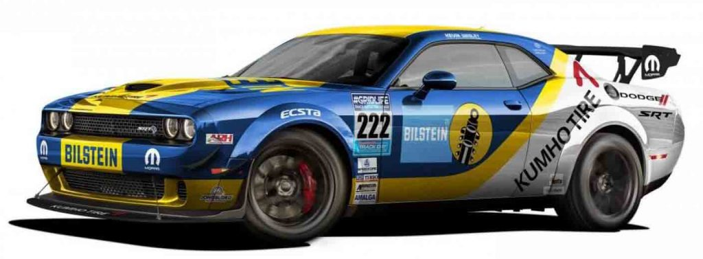 Wesley Performance Challenger with yellow and blue livery