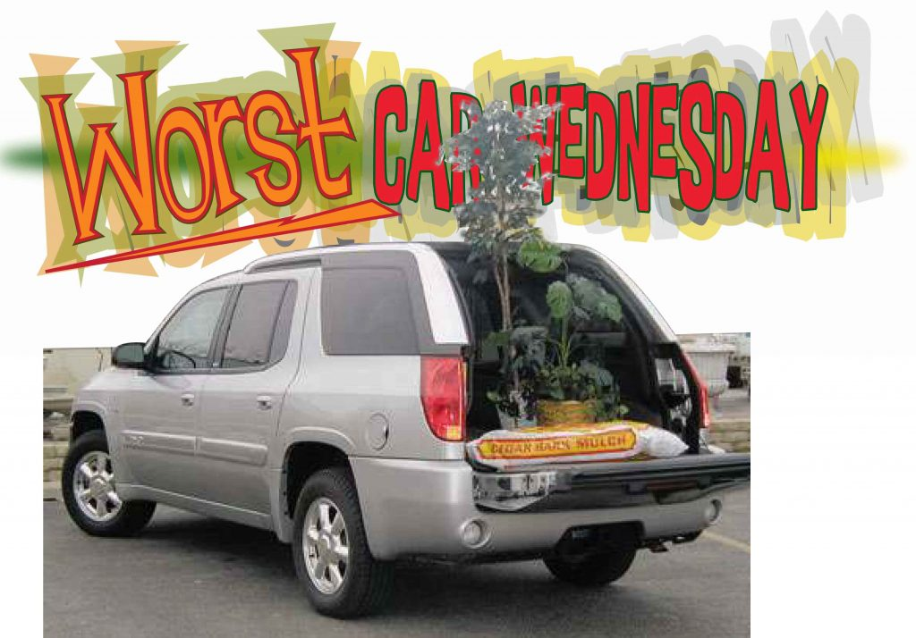 Worst Car Wednesday Great Idea Terrible Car Gmc Envoy Xuv