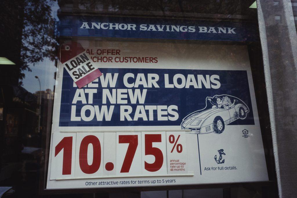 finance rate in a window