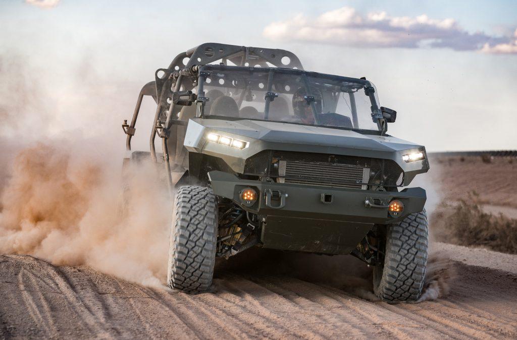 GM defense ISV based on the Chevy Colorado