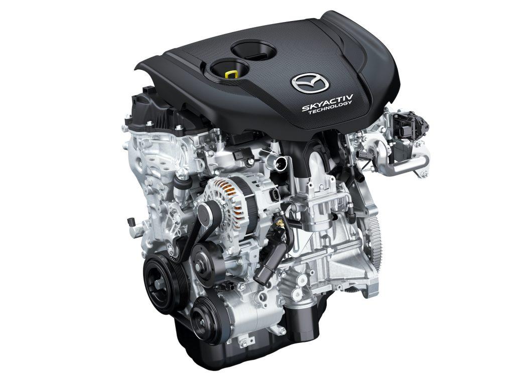 2019 Mazda CX-5 Skyactiv-D engine