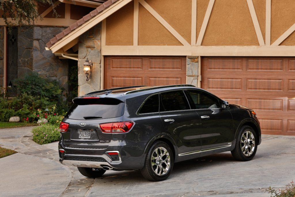 2020 Kia Sorento parked in a driveway