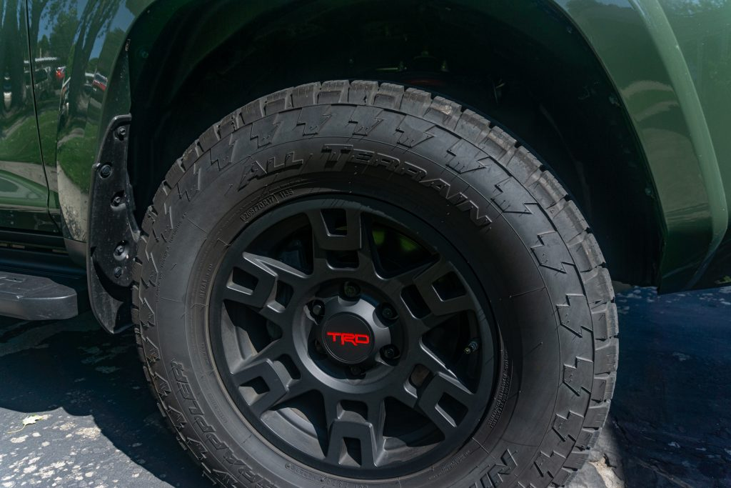 Upgraded Toyota TRD wheels entice those car shopping