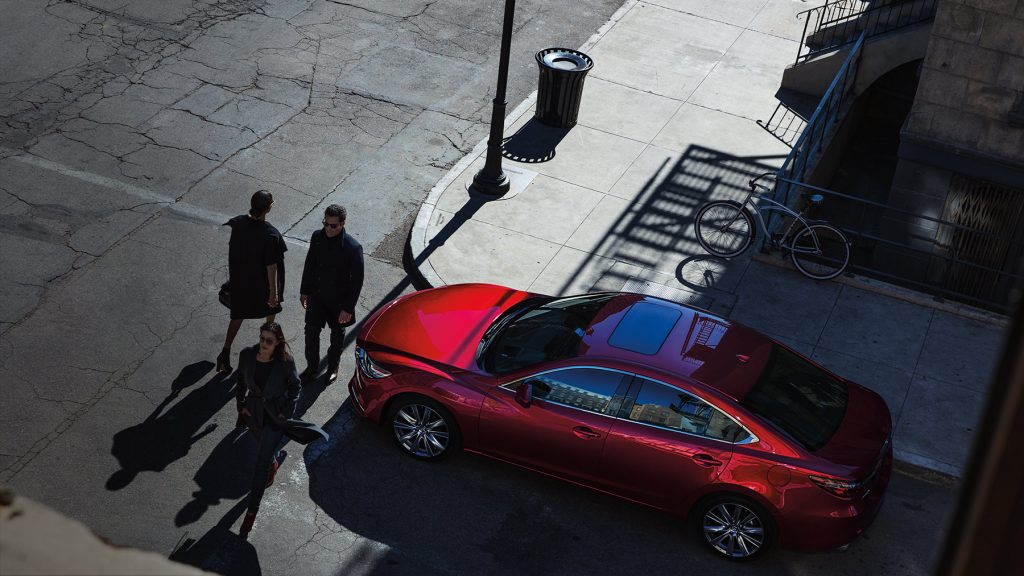 Mazda6 in red