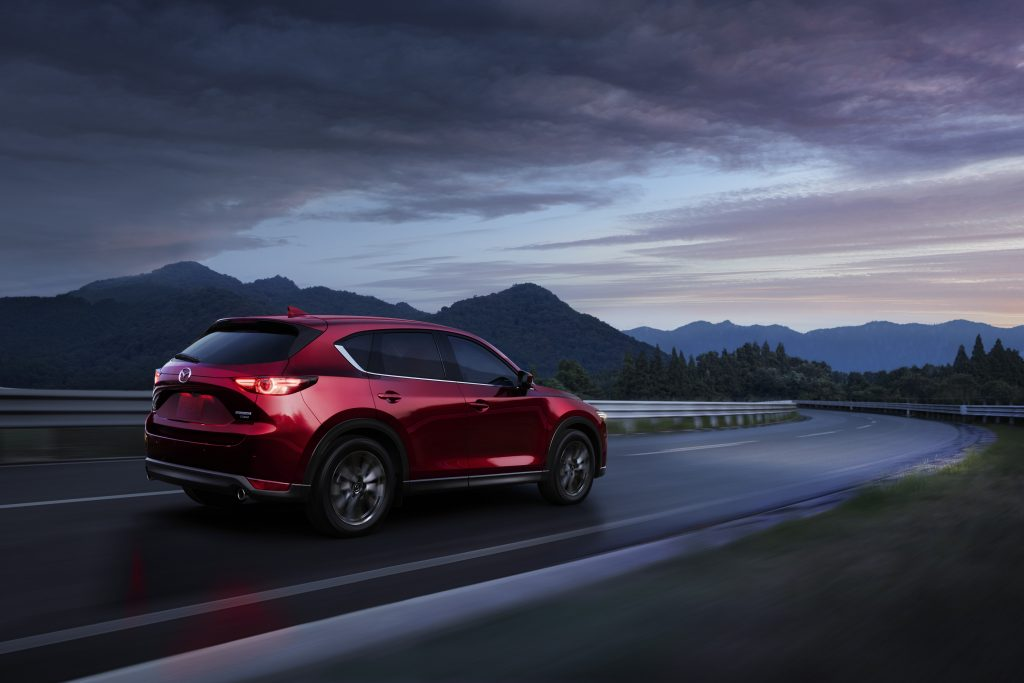 Mazda gives the 2021 CX-5 compact SUV a noticeable refresh.