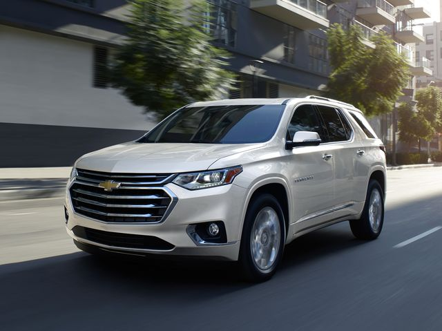 The Chevrolet Traverse is bold and accommodating.