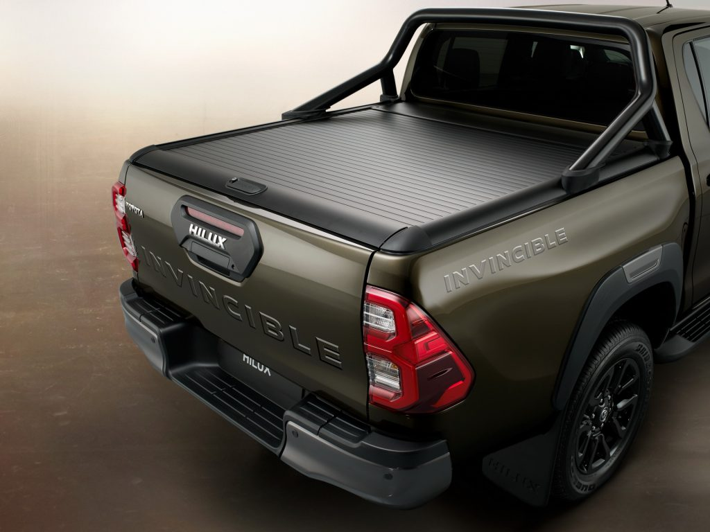 Besides the Invincible and Invincible X models there are the Active and Icon Hilux models