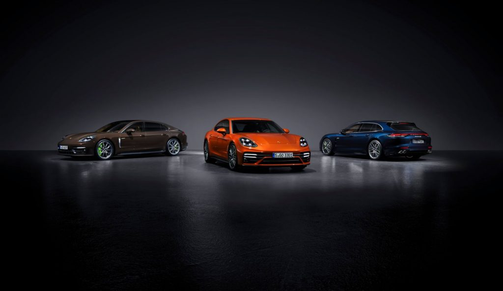 The 201 Porsche Panamera lineup feature more power and distinct design language.