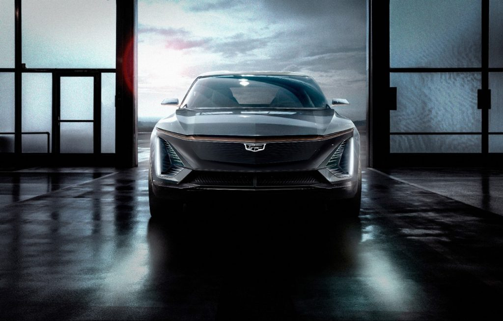 2023 Cadillac LYRIQ rendering of what it will look like