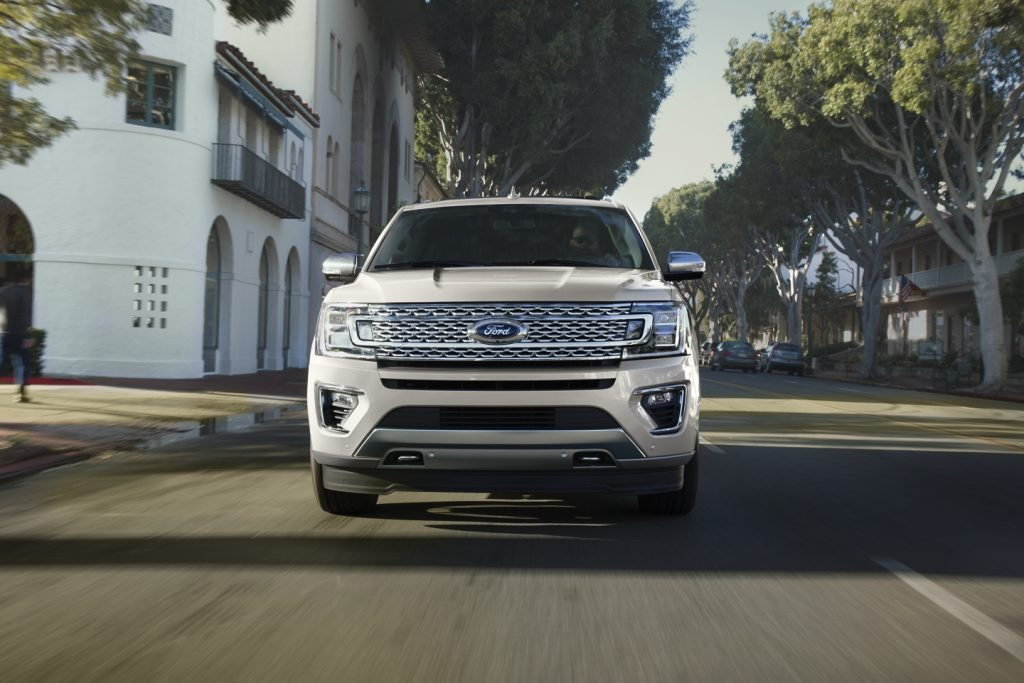2020 Ford Expedition driving on street