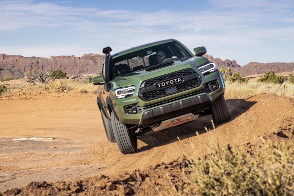 2020 Toyota Tacoma TRD Pro in Army Green