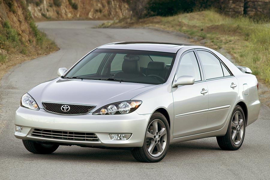 2006 Toyota Camry like this silver one is a great used car, according to Kelley Blue Book