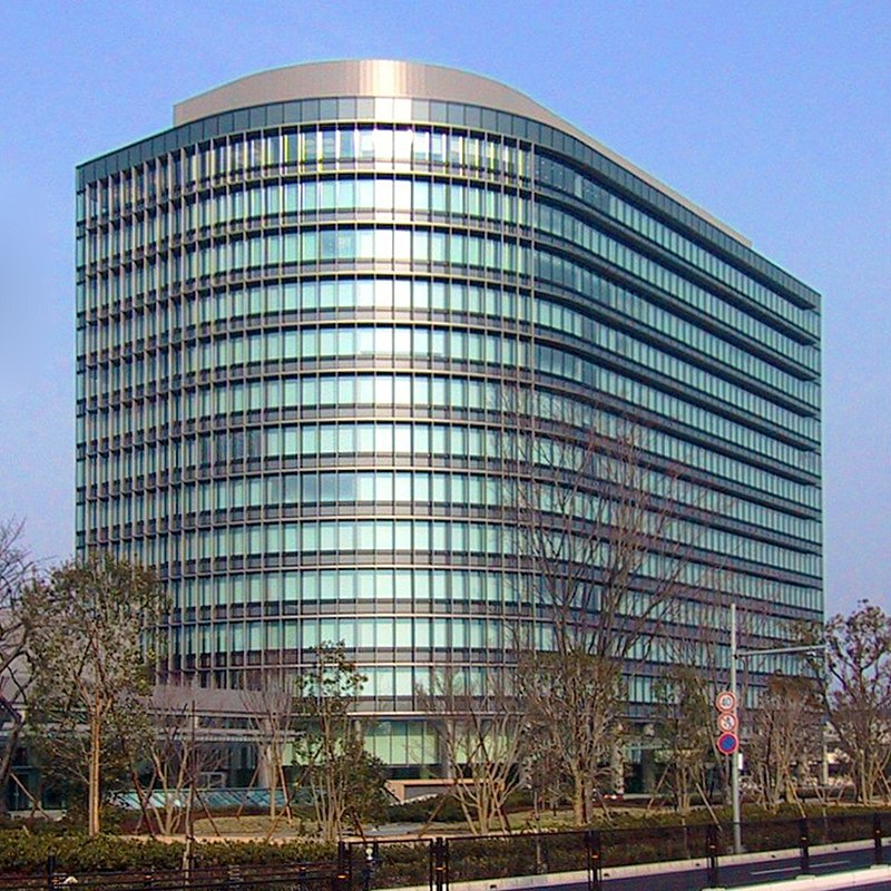 Toyota Headquarters high rise in Toyota City