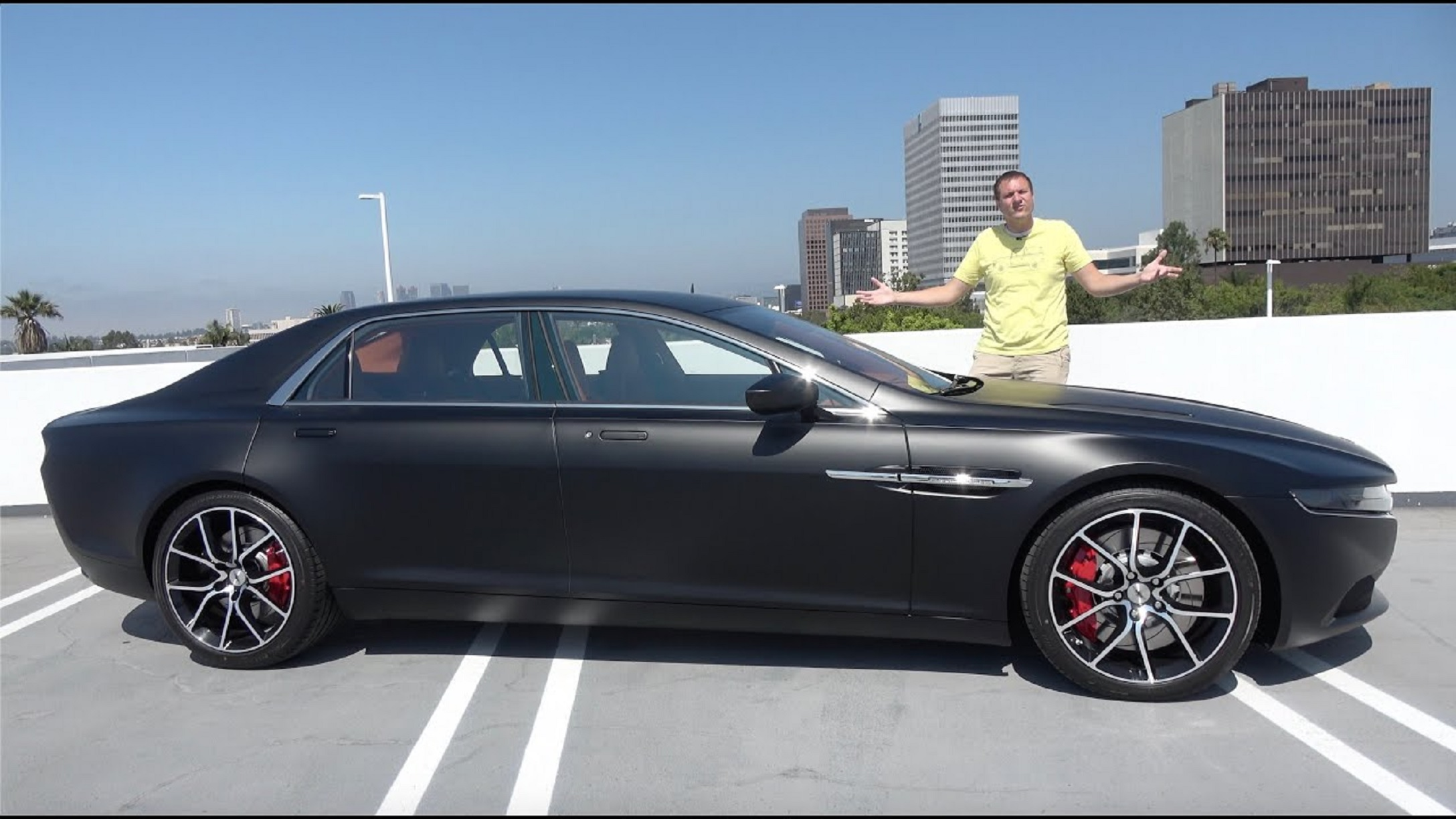 The World S Most Expensive Sedan Is A 1 000 000 Aston Martin