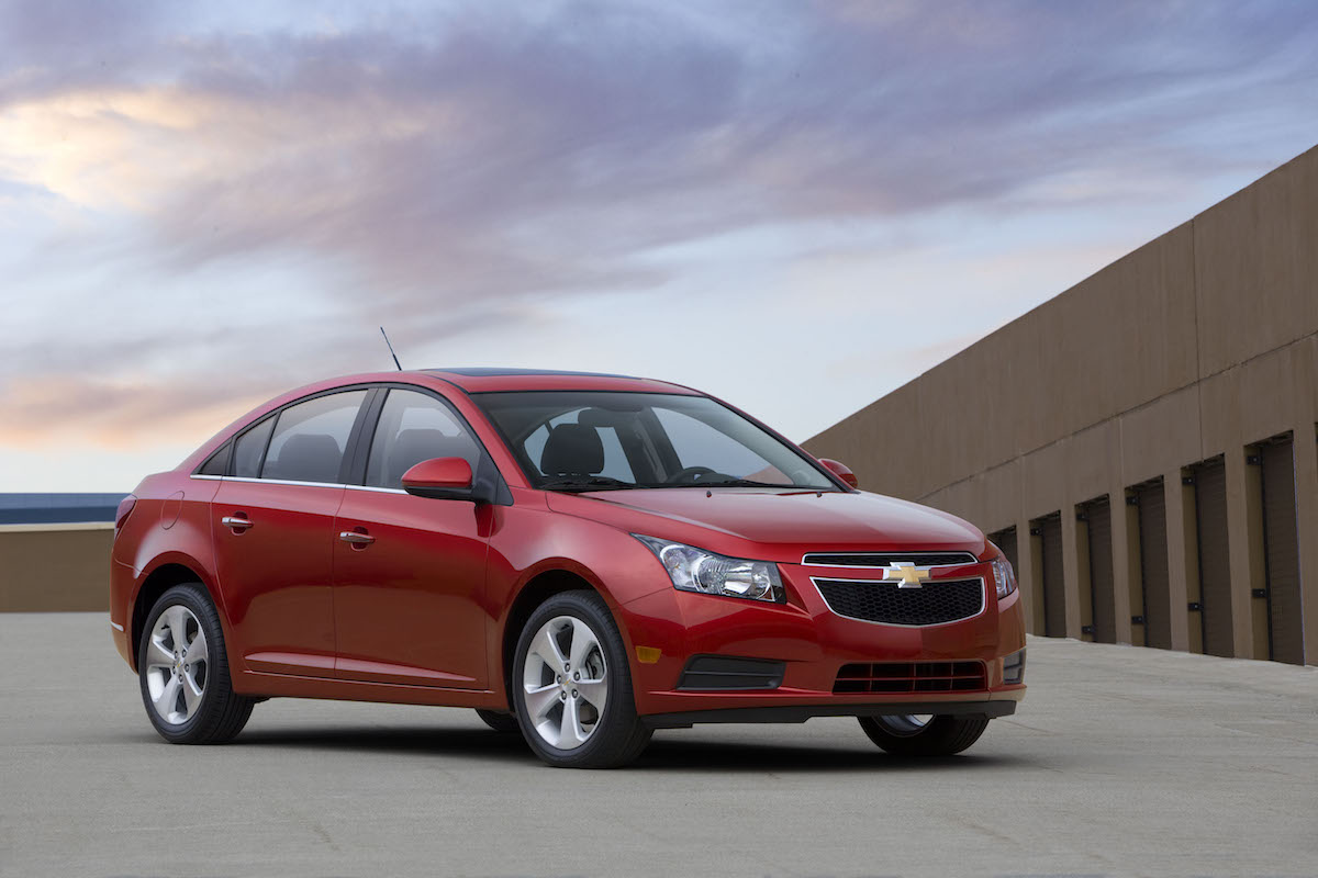 Lack of Steering Function Led to a 2011 Chevy Cruze Recall