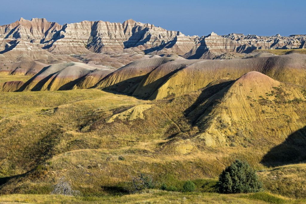 the wild and beautiful varying terrain of Badlands National park is a perfect example of the kinds of places the 2021 Ford Bronco GOAT modes craves to explore