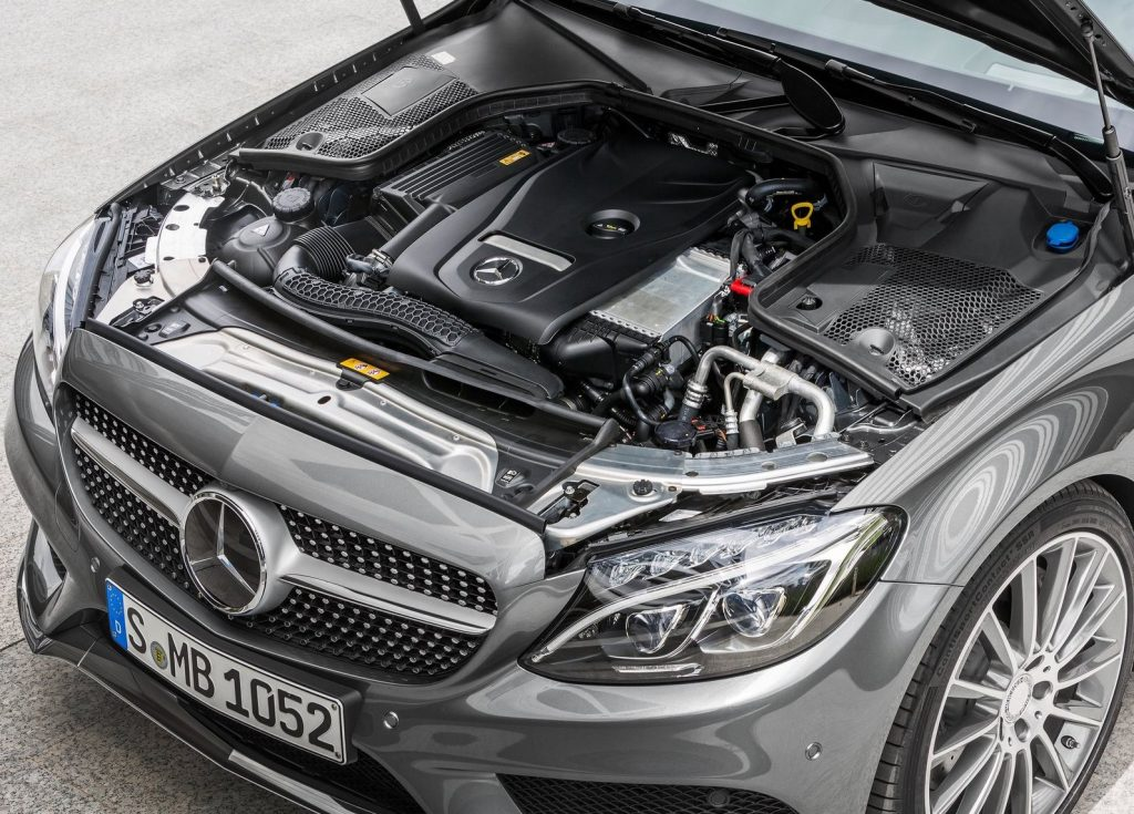 mercedes-benz c-class engine makes it one of the most fuel-efficient in the lineup