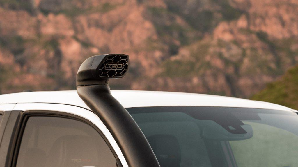2020 Toyota Tacoma TRD Pro Desert Intake