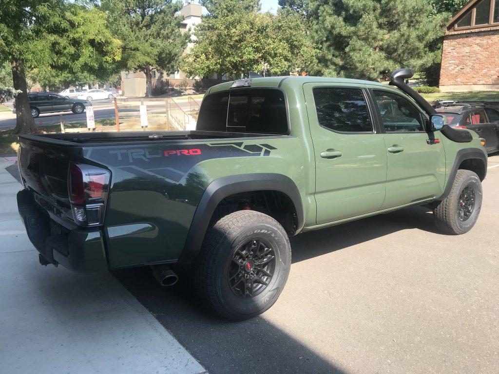 2020 Toyota Tacoma TRD Pro rear shot