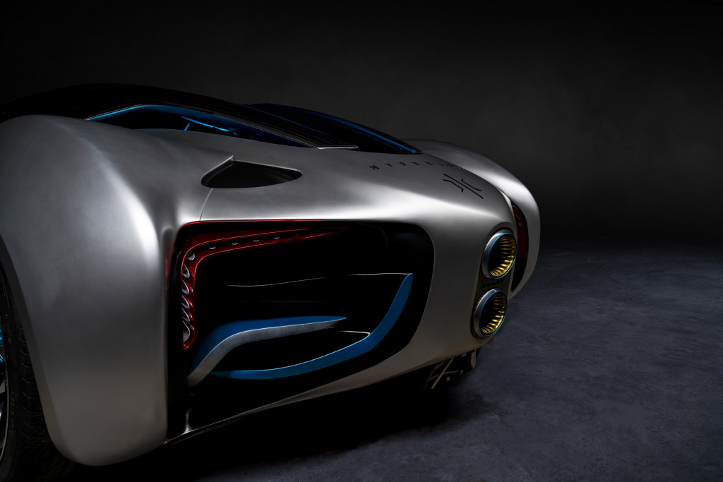 Hyperion XP-1 hydrogen-powered car