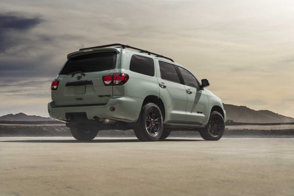 2021 Toyota Sequoia TRD Pro in Lunar Rock | Toyota